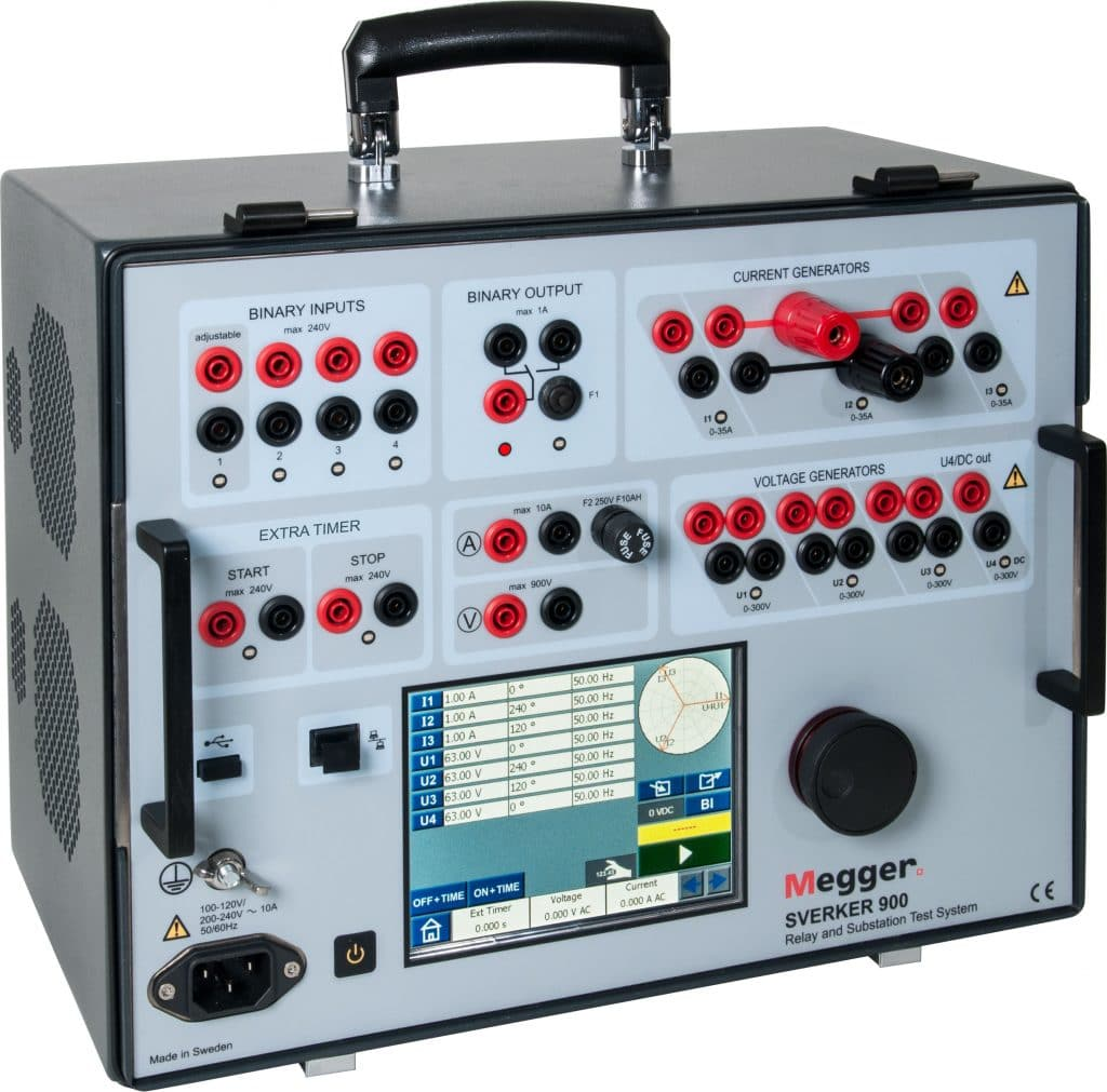Substation Relay Secondary Injection Test
